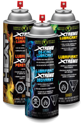 Heat Lubricants - Product Cans